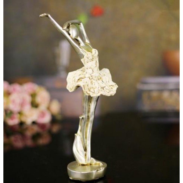 Creative Resin Ballet Solo Dance Home Decoration Pieces